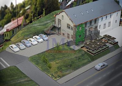 Budova na komerčný účel v meste Kreminca
